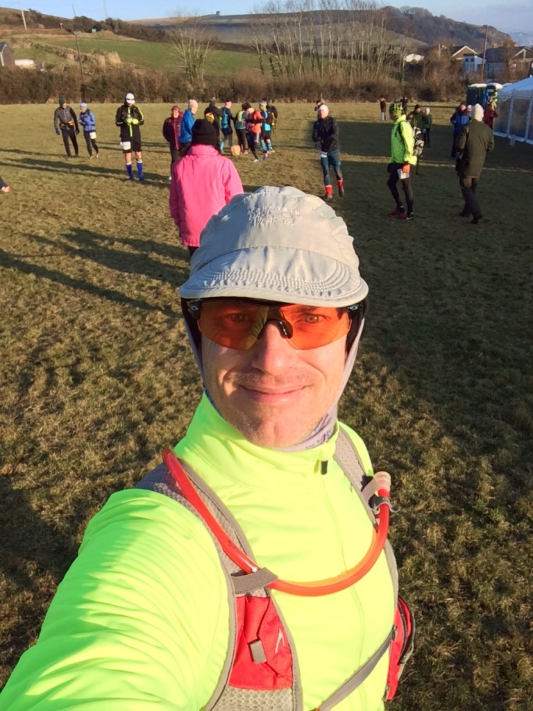 Obligatory pre-race selfie