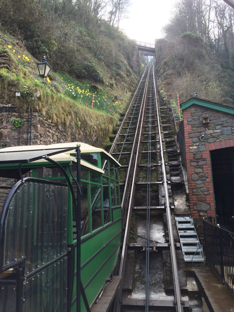 Cliff-top Railway funicular