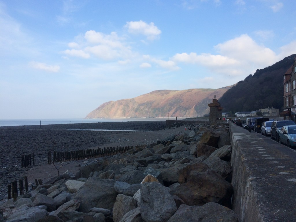 Looking towards Countisbury from Lynmouth
